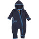 Elkline Wonneproppen Fleece Overall Babys Blueshadow